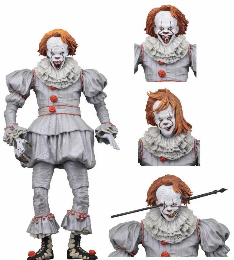 "NECA IT (2017) - Ultimate Well House Pennywise 7"" Action Figure"