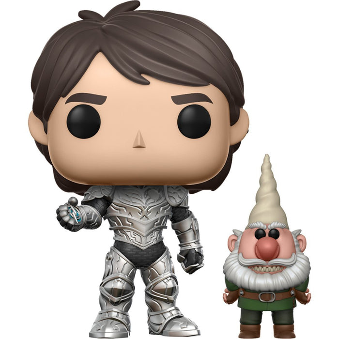 Funko Pop! Television: Trollhunters - Jim (Armor) & Gnome (Chase Variant)