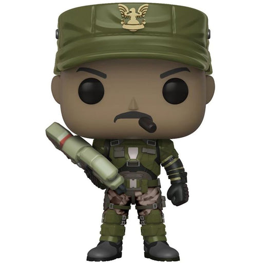 Funko Pop! Halo: Series 1 - Sgt. Johnson (Chase Variant)