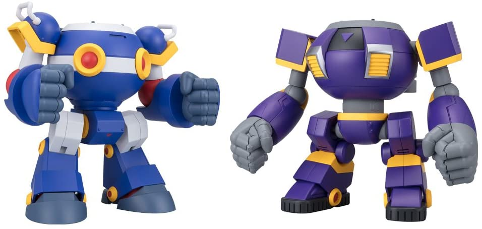 Bandai Shokugan Super Mini Pla Mega Man Ride Armor Set