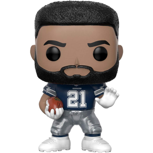 Funko Pop! NFL: Dallas Cowboys - Ezekiel Elliott (Away Jersey)