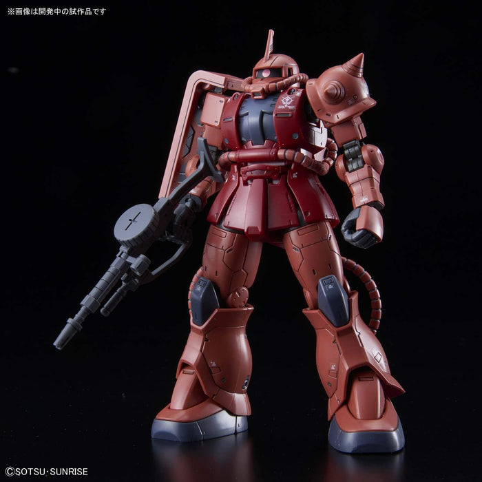 Bandai Hobby Gundam The Origin - MS-06S Zaku II Red Comet Ver. 1/144 HG Model Kit