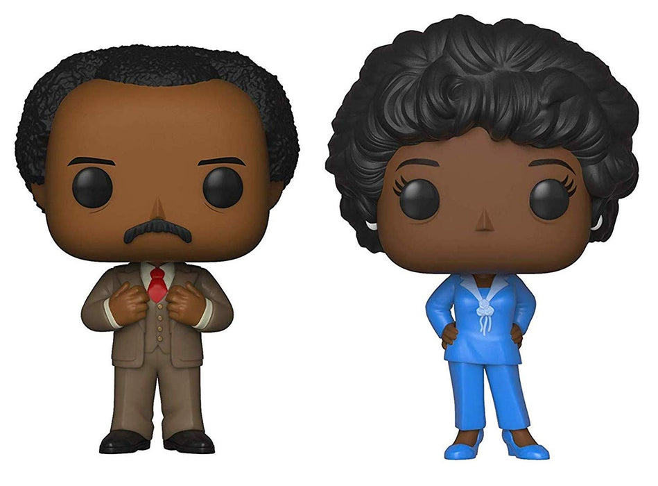 Funko Pop! Televsion: The Jeffersons (Set of 2)