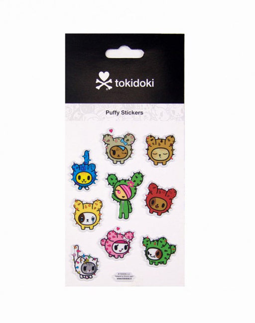 Tokidoki Cactus Kitties Stickers