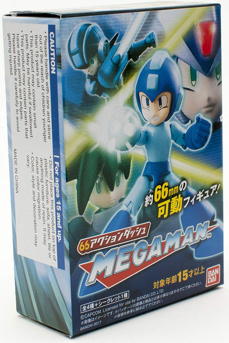 Bandai Shokugan 66 Action: Mega Man Series 1 - Mega Man
