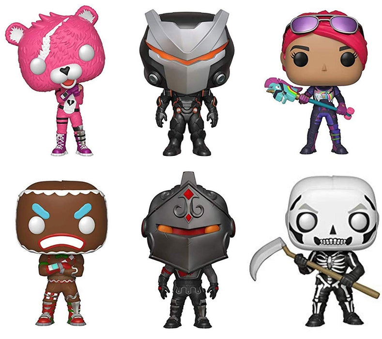Funko Pop! Games: Best of Fortnite Series 1 Collection (Set of 6)