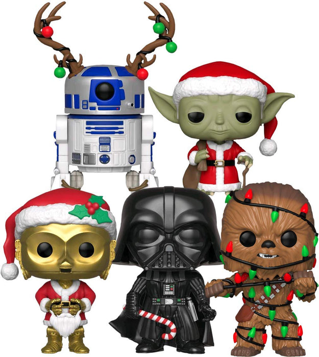 Funko Pop! Star Wars: Holiday Collection (Set of 5)