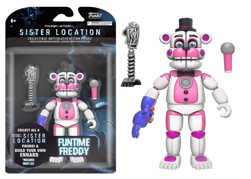 Funko: Five Nights at Freddy's Sister Location - Funtime Freddy Articulated Figure