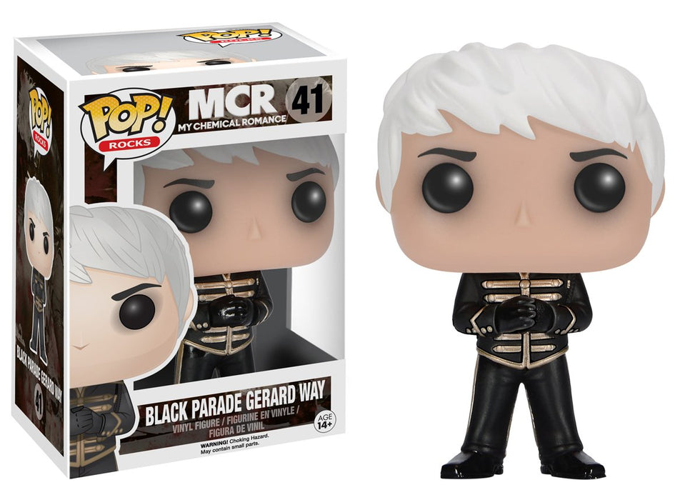 Funko Pop! Rocks: My Chemical Romance - Black Parade Gerard Way