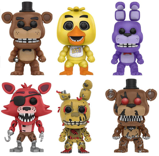 Funko Pop! Games: Five Nights at Freddy's Series 1 (Set of 6)