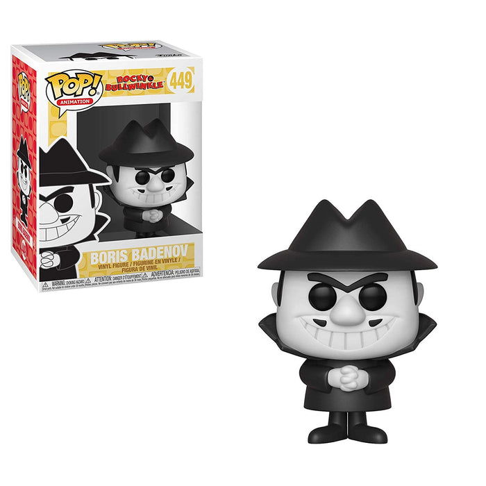 Funko Pop! Animation: Rocky & Bullwinkle - Boris Badenov
