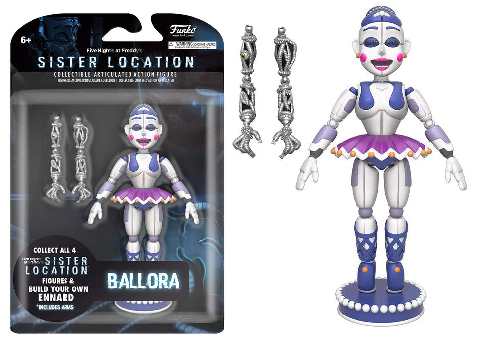 "Funko: Five Nights at Freddy's Sister Location - Ballora 5"" Articulated Figure"
