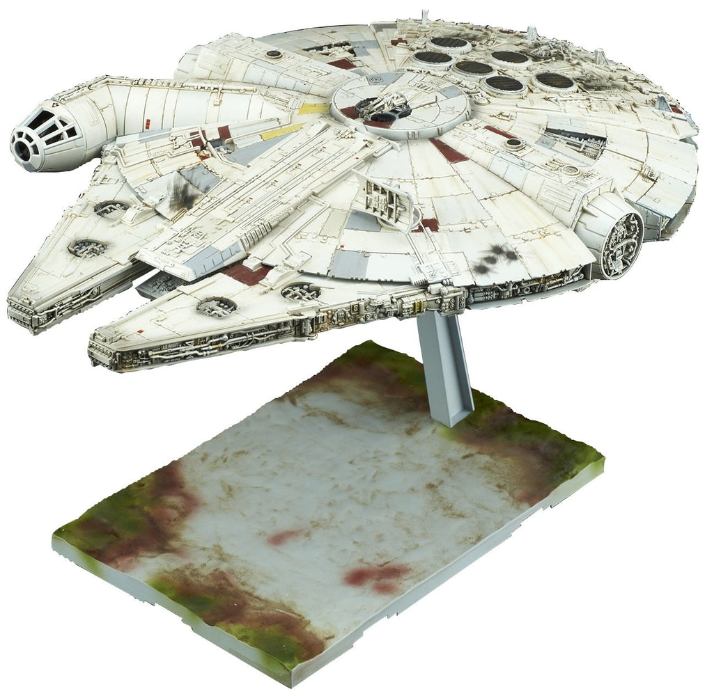 Bandai Hobby Star Wars Millennium Falcon (Episode VIII Ver.) 1/144 Model Kit