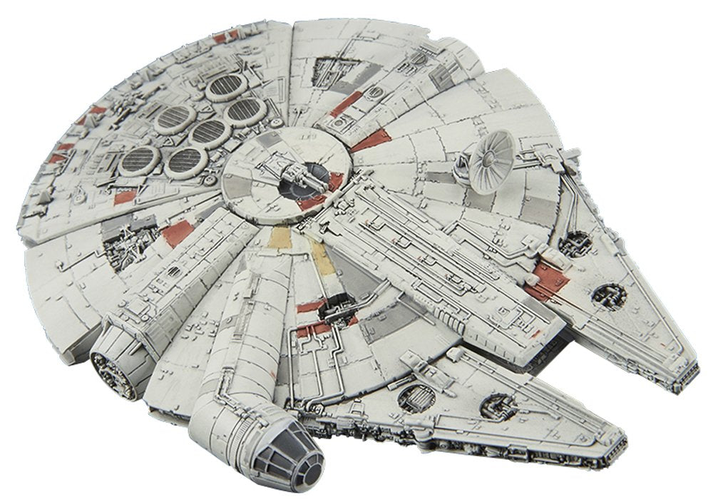 Bandai Hobby Star Wars Millennium Falcon 1/350 Miniature Model Kit