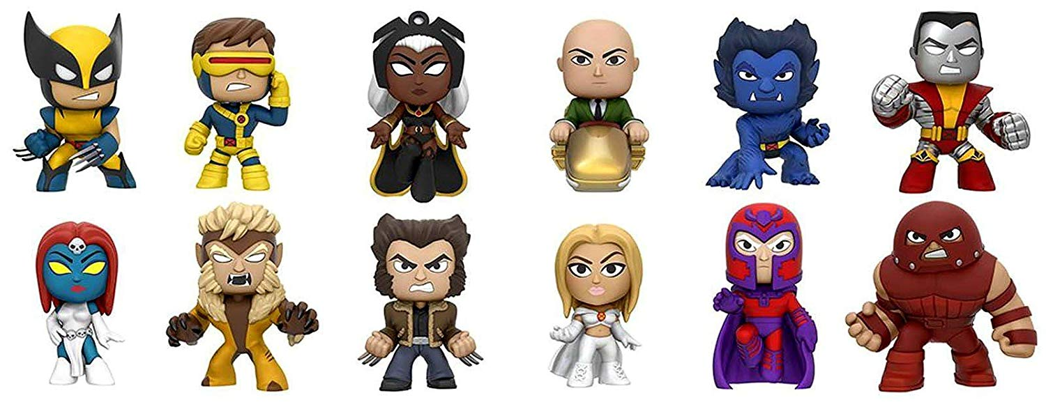 Funko Marvel X-Men Mystery Mini Blind Box Display (Case of 12)