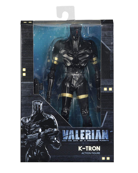 "NECA Valerian and the City of a Thousand Planets - K-Tron 7"" Action Figure"