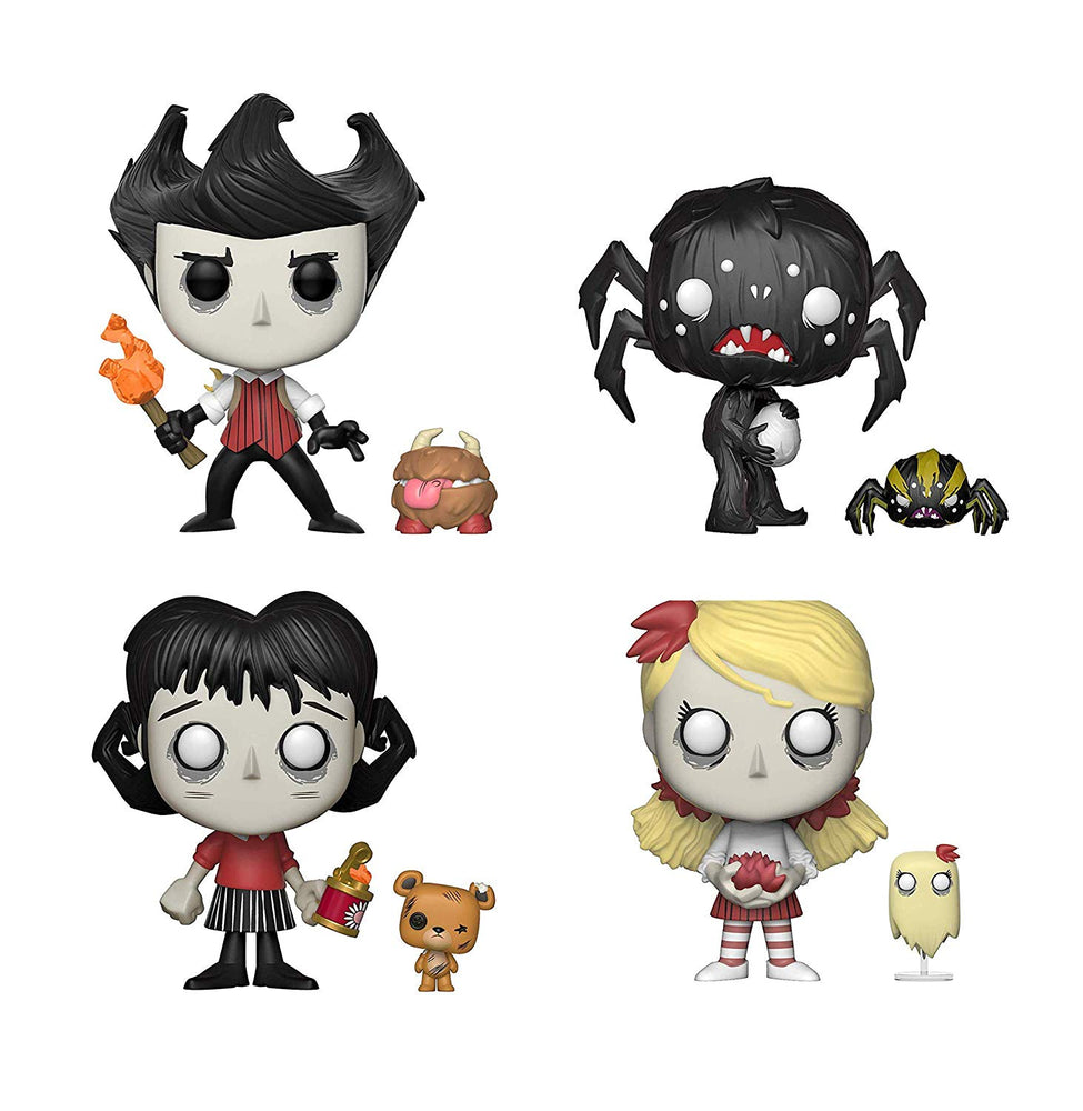 Funko Pop! Games - Don't Starve (Set of 4)