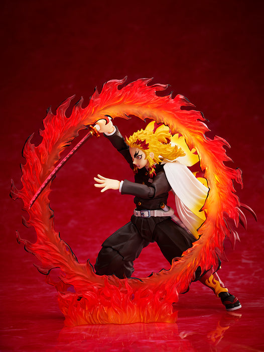Aniplex Demon Slayer: Kimetsu no Yaiba: Mugen Train - Kyojuro Rengoku Action figure