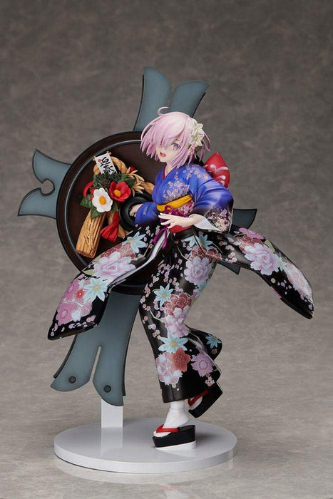 Aniplex Fate/Grand Order: Grand New Year - Mash Kyrielight (Kimono Version) 1/7 Scale PVC Statue