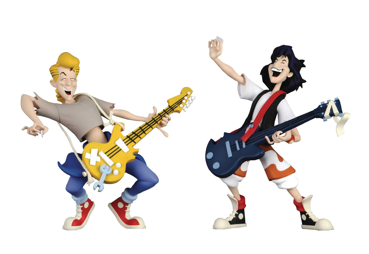NECA Toony Classics - Bill & Ted's Excellent Adventure 2-Pack