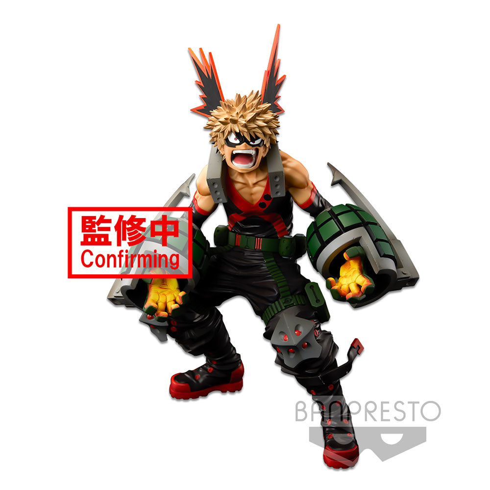 Banpresto My Hero Academia - Katsuki Bakugo (The Brush) World Figure Colosseum PVC Figure