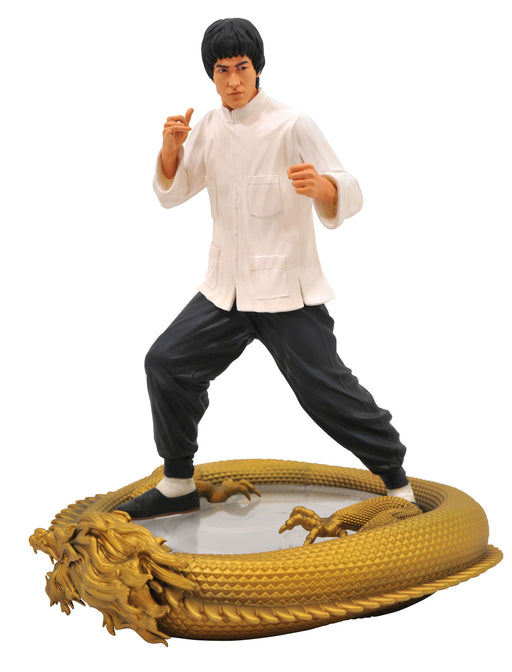 Diamond Select Toys Premier Collection - Bruce Lee 80th Anniversary Statue