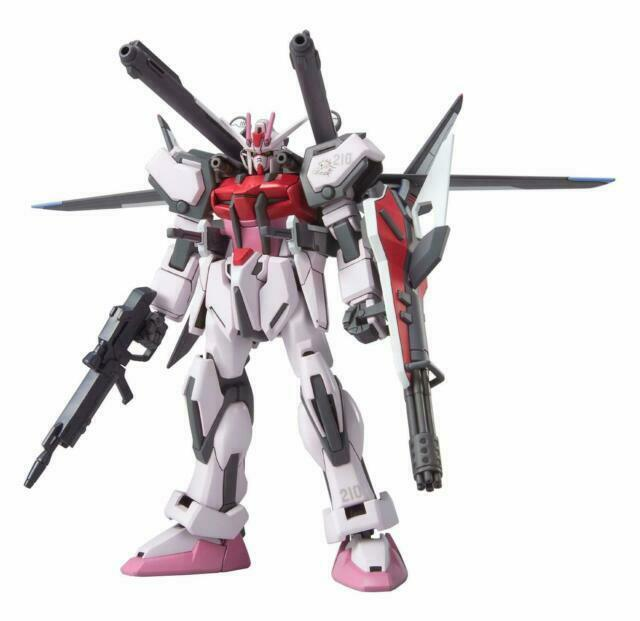 Bandai Hobby Mobile Suit Gundam SEED - MSV-01 Strike Rouge + I.W.S.P. 1/144 HG Model Kit