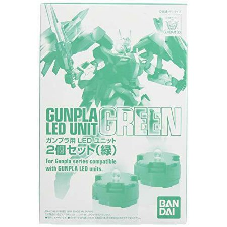 Bandai Hobby Green LED 2-Pack Set for MG Model Kits