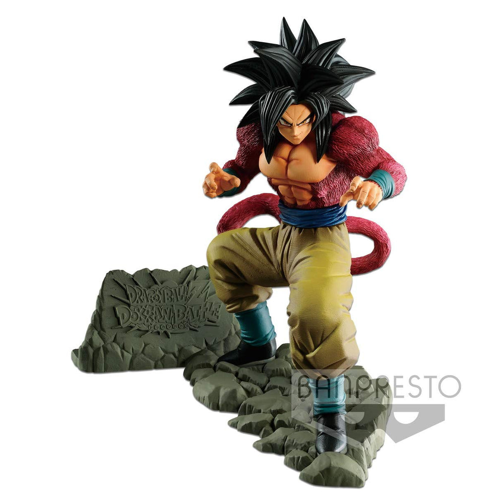Banpresto Dragon Ball Z Dokkan Battle Anniversary Figure - Super Saiyan 4 Son Goku