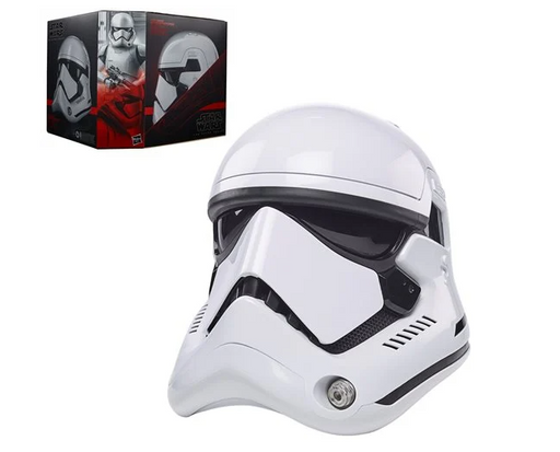 Star Wars Black Series First Order Stormtrooper Premium Electronic Helmet Prop Replica
