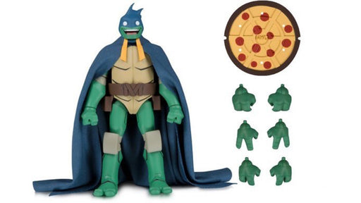 DC Collectibles Batman vs. Teenage Mutant Ninja Turtles - Mikey (as Batman) Action Figure (2019 SDCC Exclusive)