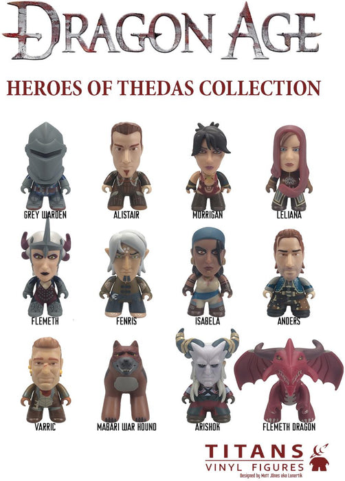 Titans Dragon Age The Heroes Of Thedas Blind Box
