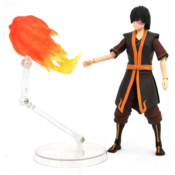 Diamond Select Toys Avatar: The Last Airbender 7-inch Action Figure - Zuko (Deluxe Ver.)