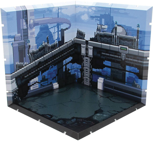 PLM Co. Dioramansion 150 Future Town (Pixel Art) Diorama Playset