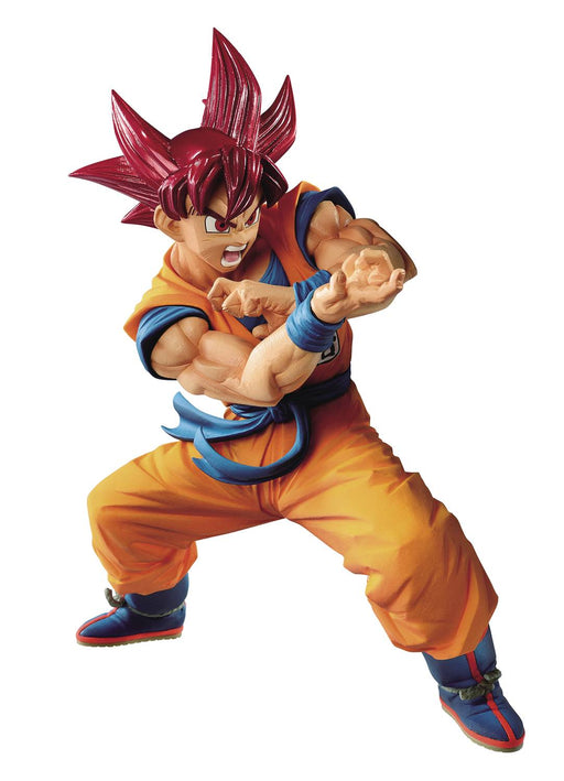 Banpresto Dragon Ball Blood of Saiyans Special Vol. VI - Super Saiyan God Goku Figure
