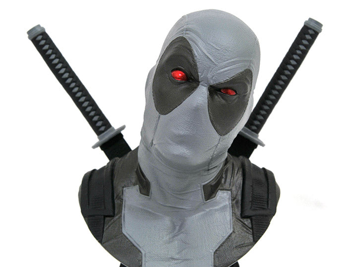 Diamond Select Toys Marvel Legends 3D - Deadpool (X-Force Version) 1/2 Scale Bust (2019 SDCC Exclusive)