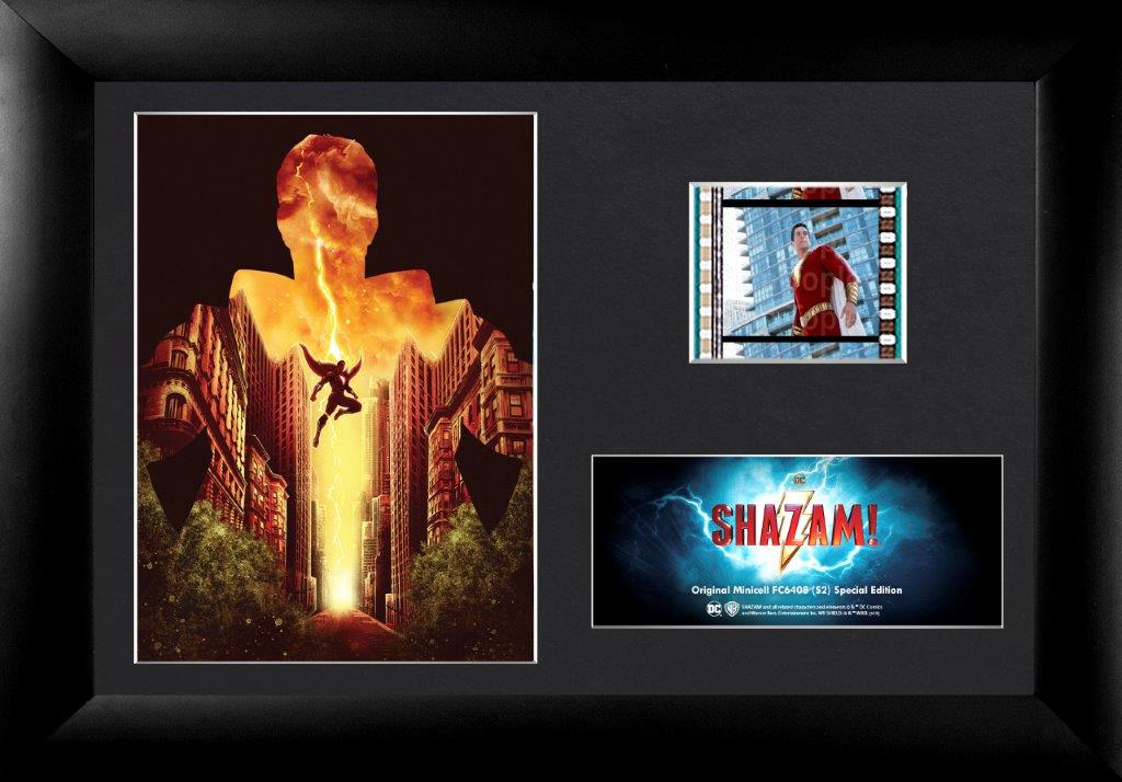 FilmCells DC Comics: Shazam (2019 Film) Minicell Framed Art (2019 SDCC Exclusive)
