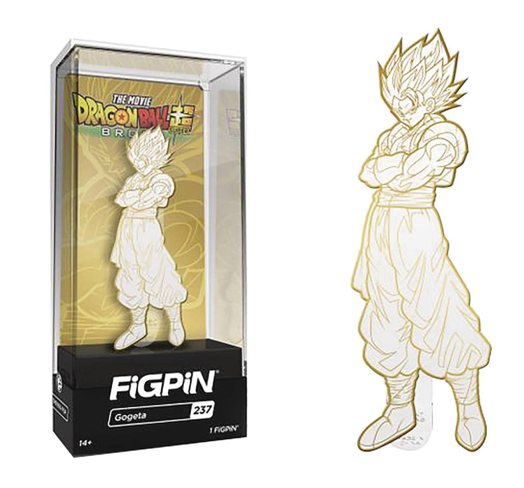 FiGPiN Dragon Ball Super: Broly - Gogeta (White & Gold Ver.) Collectible Enamel Pin