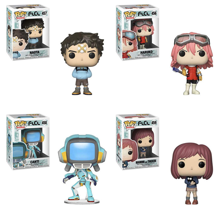 Funko Pop! Animation: FLCL (Set of 4)