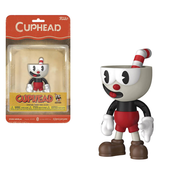 Funko Cuphead 5-inch Action Figure - Cuphead