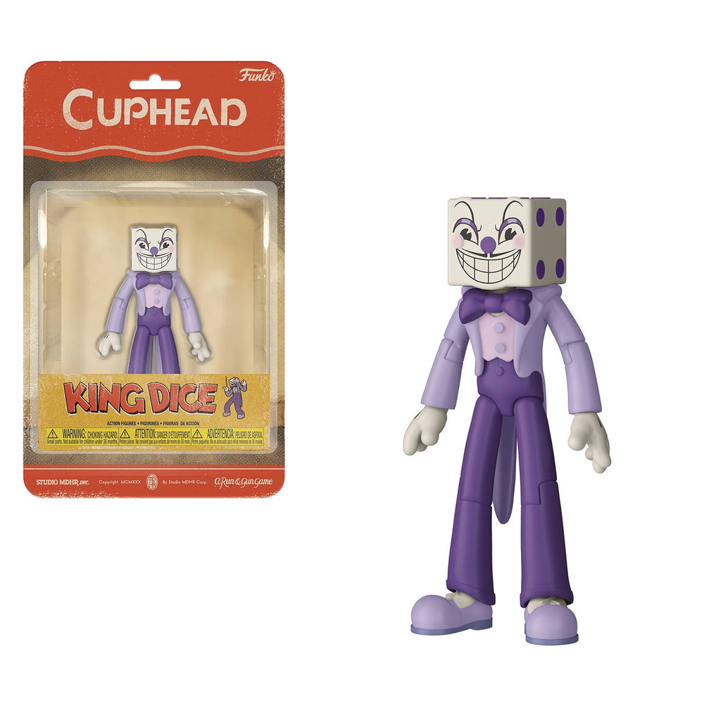 Funko Cuphead 5-inch Action Figure - King Dice