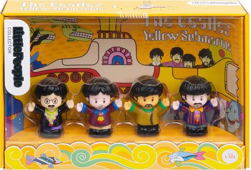 Fisher-Price Little People - The Beatles Yellow Submarine 4-Pack