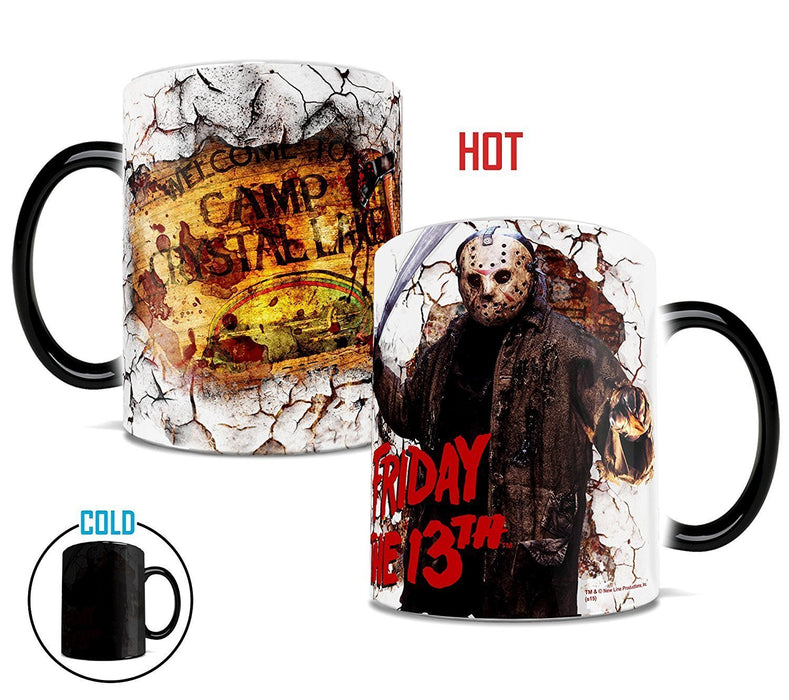 "Morphing Mugs Friday the 13th ""Welcome to Camp Crystal Lake"" 11 oz. Coffee Mug"