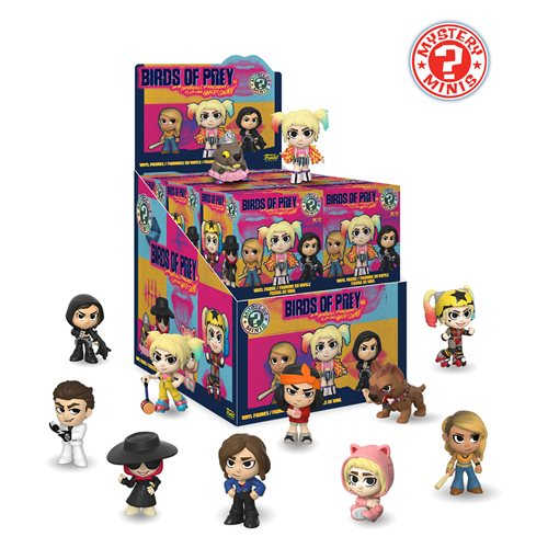 Funko DC Comics Birds of Prey (2020 Film) Mystery Mini Blind Box Display (Case of 12)
