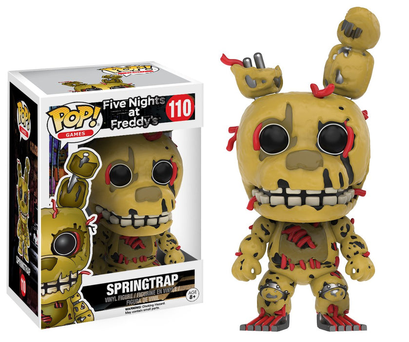 Funko Pop! Games : Five Nights at Freddy's - Springtrap