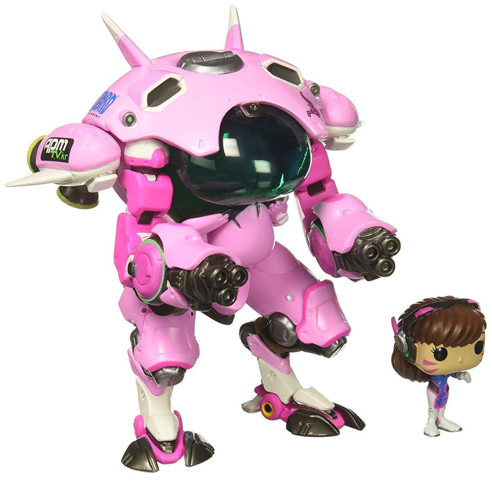 Funko Pop! Games: Overwatch - D.VA with MEKA