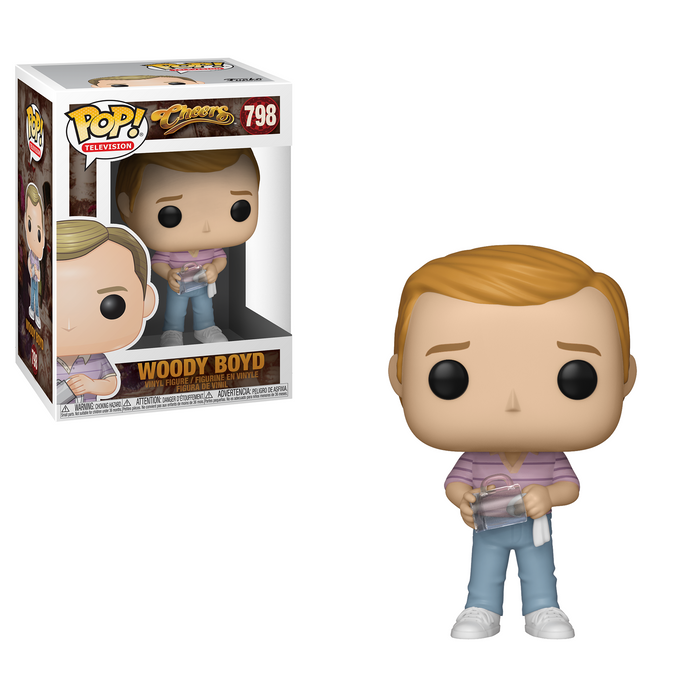 Funko Pop! Television: Cheers - Woody Boyd