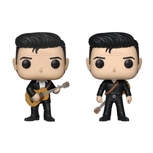 Funko Pop! Rocks: Johnny Cash (Set of 2)