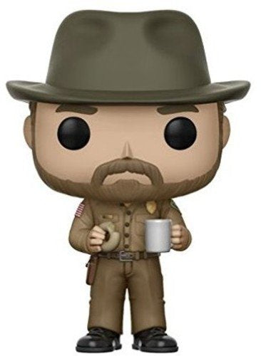 Funko Pop! Television : Stranger Things - Hopper w/ Donut
