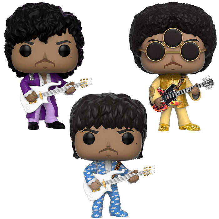 Funko Pop! Rocks: Prince (Set of 3)